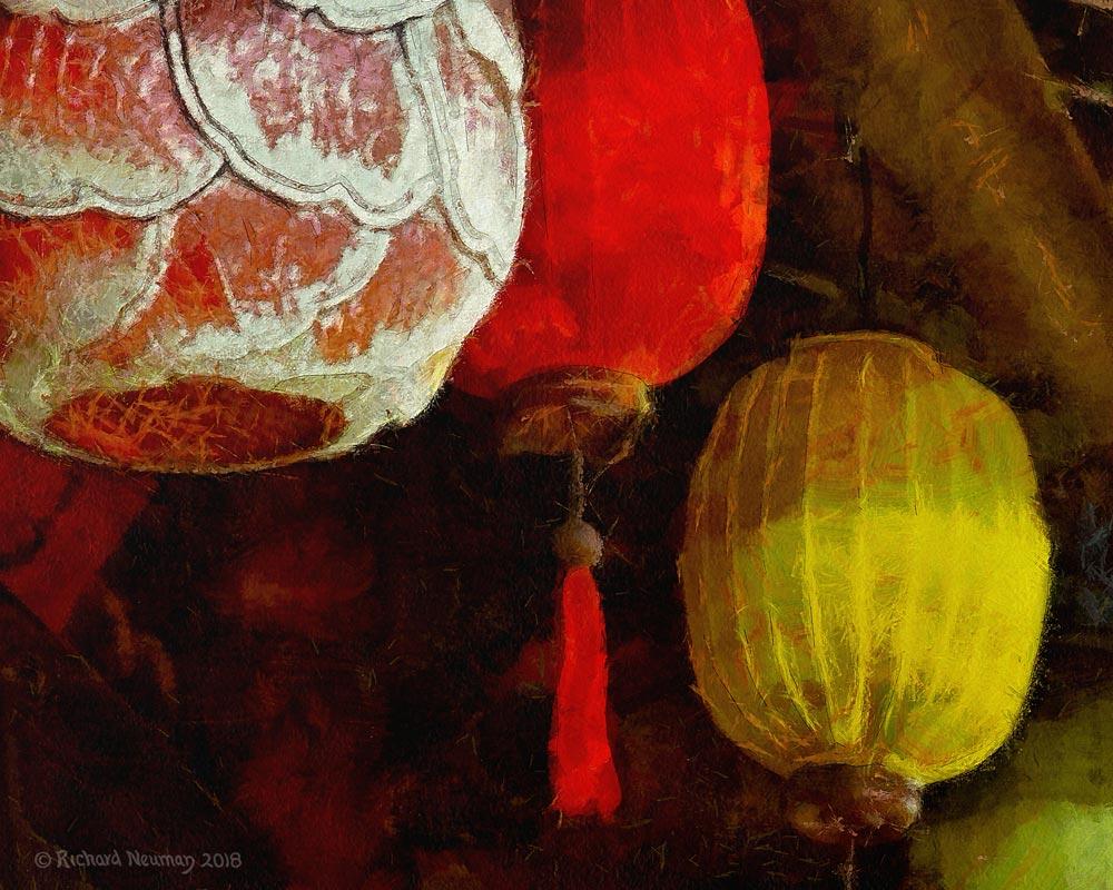 Fancy Lanterns Hoian Vietnam Download Print Richard Neuman Two Bananas Art