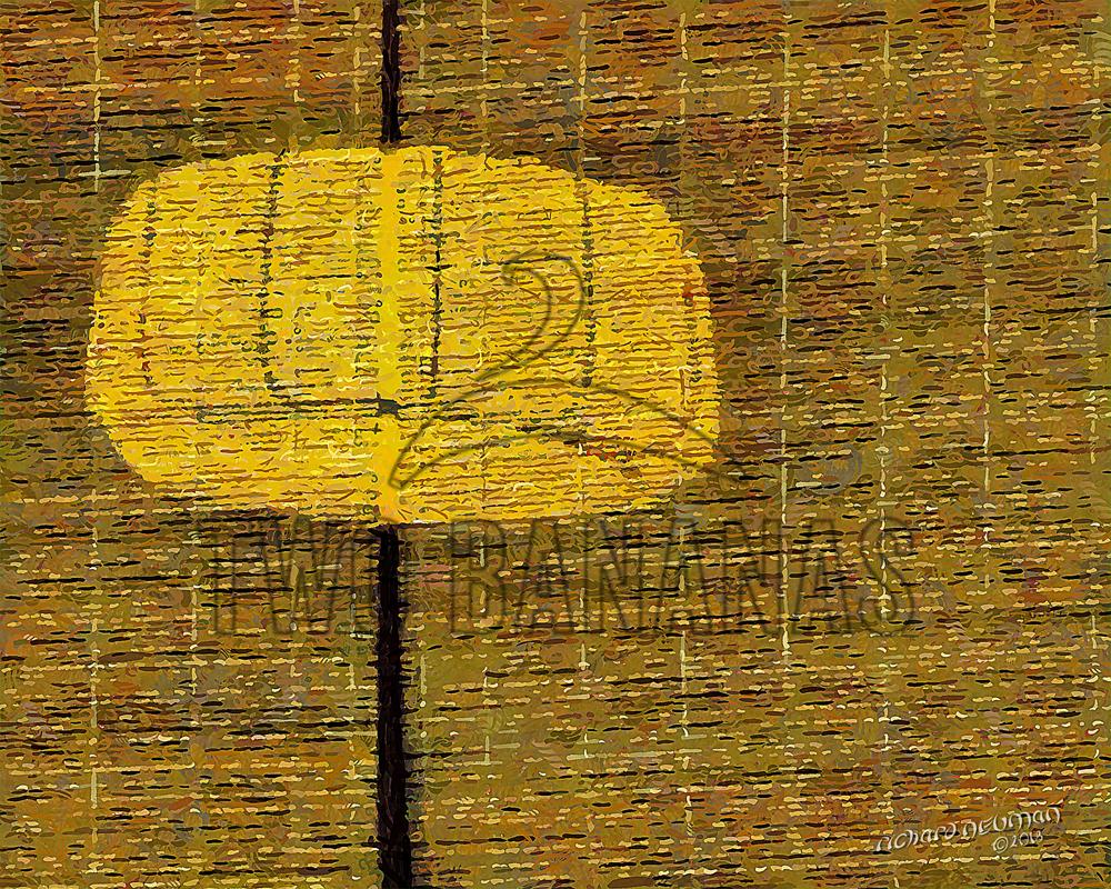 Red Lantern Black Banner Temple Xian China DIY Download Print Millennial Impressionist Richard Neuman Two Bananas Art