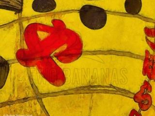 Whimsical Osaka Street Sign Download Print Richard Neuman Two Bananas Art