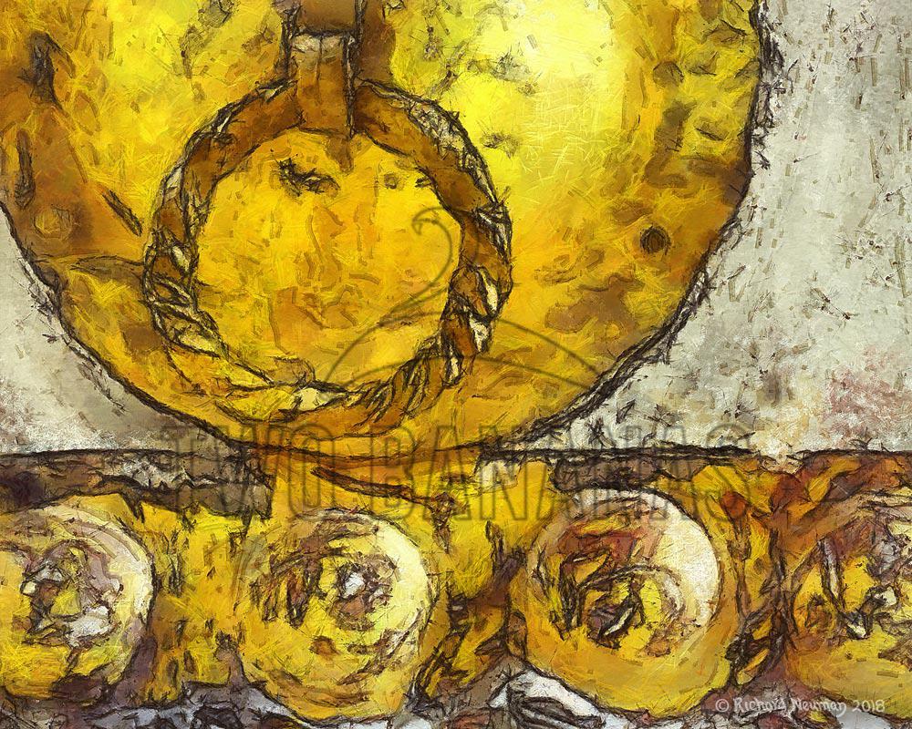 Repainting Old Temple Door Download Print Richard Neuman Two Bananas Art