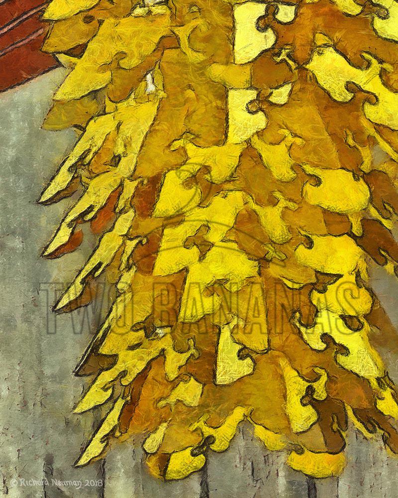 Ornate Gold Temple Lantern Download Print Richard Neuman Two Bananas Art