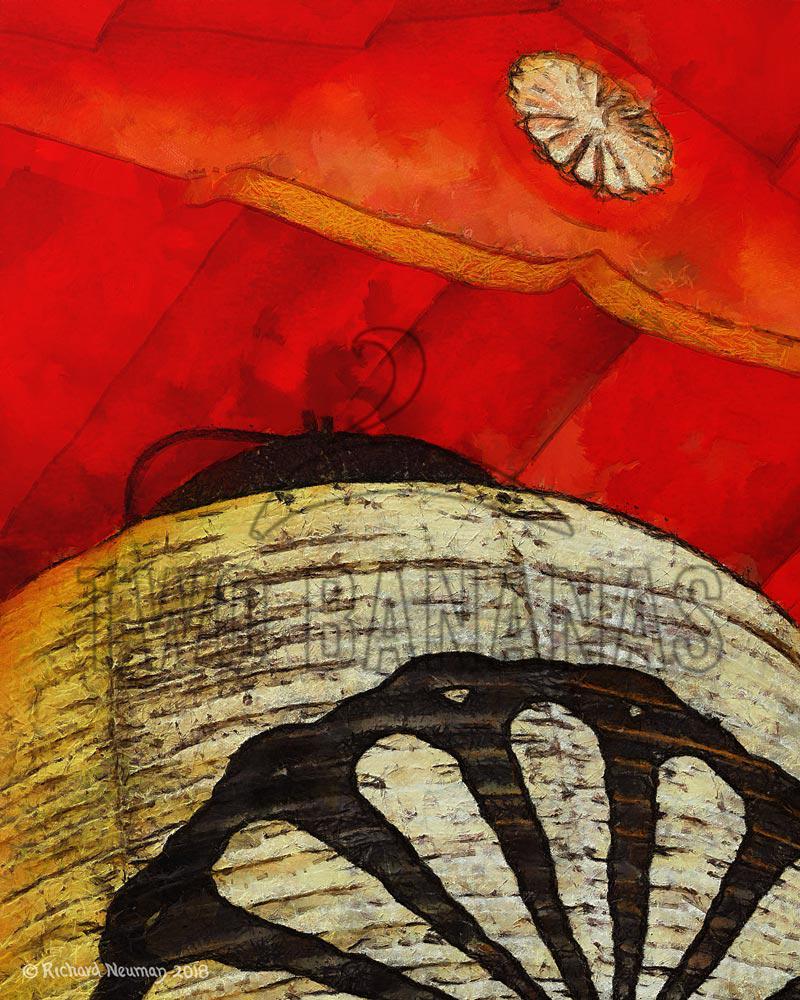 Natural White Temple Lantern Nara Japan Download Print Richard Neuman Two Bananas Art