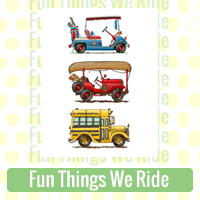 Fun Things We Ride Link Richard Neuman Two Bananas Art Whimsical Train Plane Cycle Images Zazzle Items