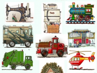 """100""""s Of RichardNeuman Whimsical Images On 1,000""""s Of  Zazzle Products"""