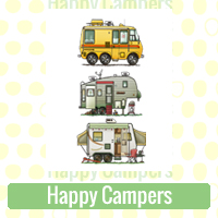Happy Campers Link Richard Neuman Two Bananas Art Whimsical Camper Images Zazzle Items