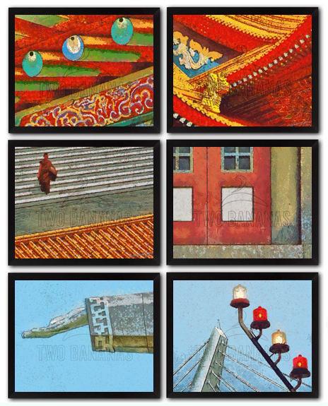 6 Simply Beautiful Patterns DIY Download Millennial Impressionist Paintings Richard Neuman Two Bananas Art