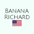 Name Richard Two Bananas Art United States Flag