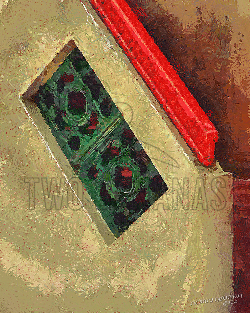Tiny Stairway Temple Pingtung Taiwan DIY Download Print Millennial Impressionist Richard Neuman Two Bananas Art