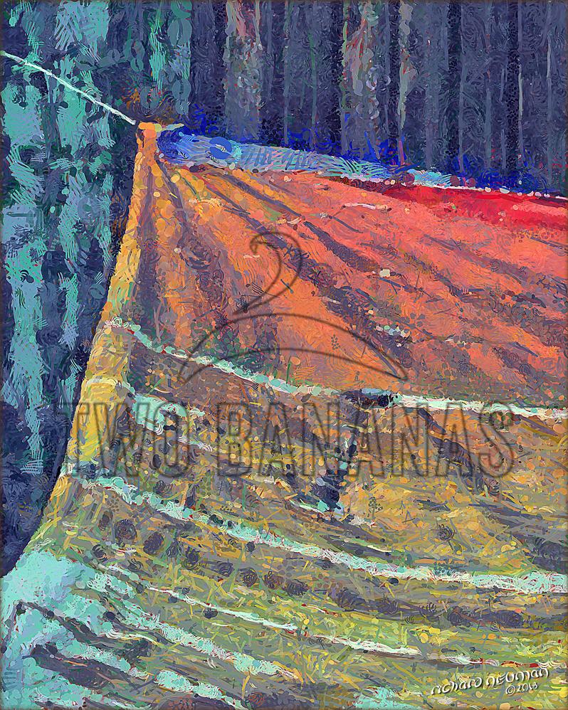 Remnant Us Military Base Bien Phuc Vietnam DIY Download Print Millennial Impressionist Richard Neuman Two Bananas Art