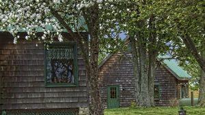 Richard's home and studio in rural Ohio.