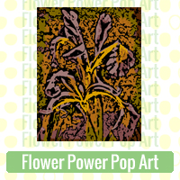 Flower Pop Art Link Richard Neuman Two Bananas Art Whimsical Images Zazzle Items