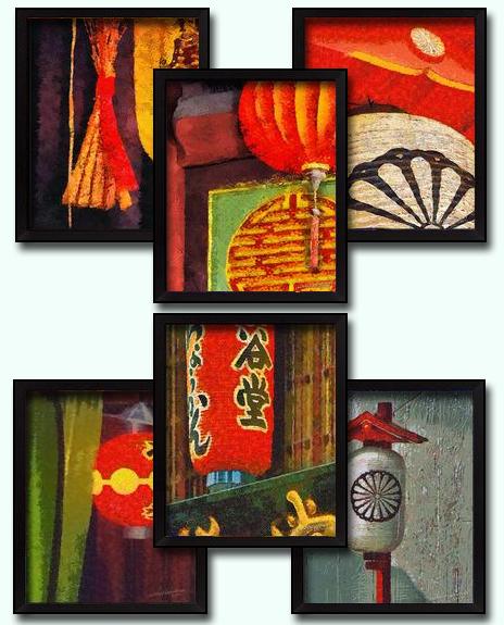 6 Paper Lantern DIY Download Millennial Impressionist Paintings Richard Neuman Two Bananas Art