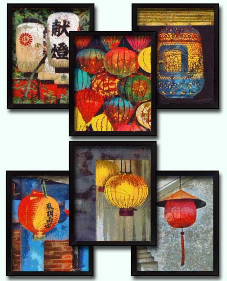 6 Taiwanese Paper Lantern DIY Download Millennial Impressionist Paintings Richard Neuman Two Bananas Art