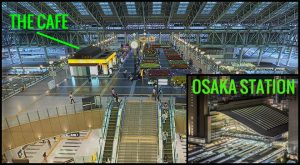 Osaka Train Station Visual Verbal Stories Richard Neuman Two Bananas Art